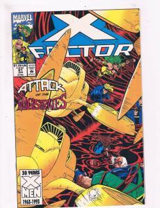 X-Factor #91 VF 1st Print Marvel Comic Book X-Men Random X-Force DE3