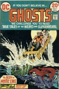 Ghosts (1971 series) #19, Good+ (Stock photo)