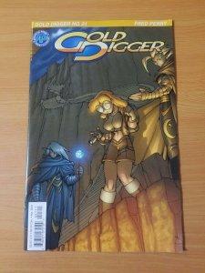 Gold Digger #21 ~ NEAR MINT NM ~ 2001 Antarctic Press Comics