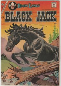 Black Jack #20 (Nov-57) FN Mid-Grade Black Jack, Rocky Lane