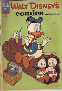 Comics and Stories, Walt Disney's #261 (Jun-62) VG Affordable-Grade Donald Du...