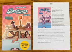 THE AVANT-GUARDS VOLUME 1 TPB Udsin Hayes GIRLS BASKETBALL Comic REVIEW COPY!