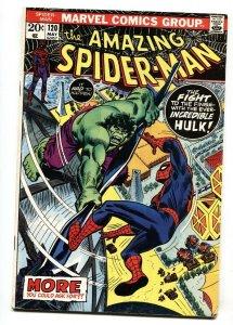 Amazing Spider-man #120 1973- Hulk Battle issue  VG+