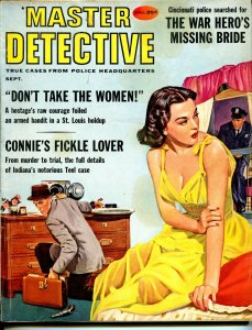 Master Detective 9/1959-D.L. Champion-spicy girl art cover-crime-VG/FN