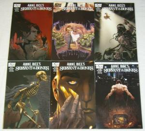 Anne Rice's Servant of the Bones #1-6 VF/NM complete series 2010 IDW COMICS set