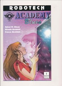ROBOTECH Academy Blues #5 - Academy Comics Ltd. 1995 ~ NM  (PF278)