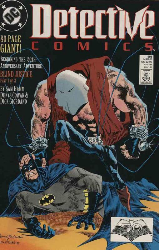 DETECTIVE #598, VF/NM, Batman, Blind Justice, 1989, Gotham City,more DC in store