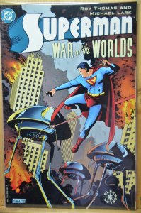 Superman, War of The Worlds, Roy Thomas Art!!
