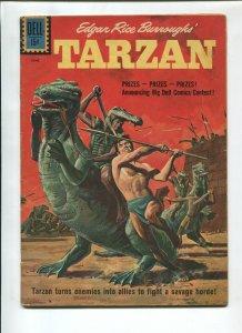 TARZAN #124 1961-DELL-EDGAR RICE BURROUGHS-FN