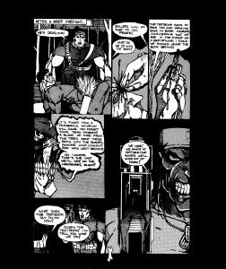 Midnites Revenge Book of the Dead #2, 2ndPrint W/ FREE COMIC! ONE SHOT PRESS