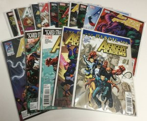 Avengers Academy 1-12 14 14.1 17 Giant Sized 1 Nm Near Mint Marvel Comics