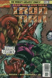 Iron Man (1996 series) #12, NM + (Stock photo)