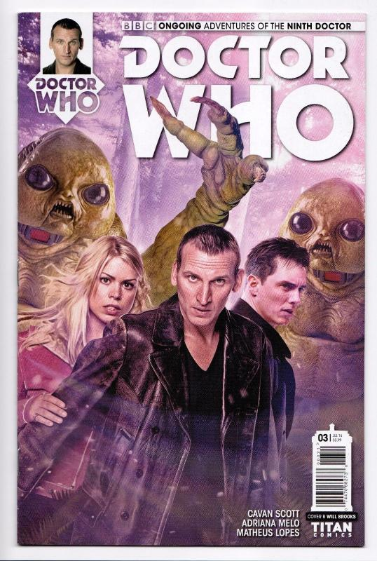 Doctor Who Ongoing  Adventures Ninth Doctor #3 Cover B  (Titan, 2016) (NM)