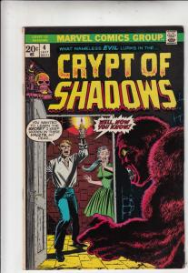 Crypt of Shadows #4 (Jul-73) VF/NM- High-Grade