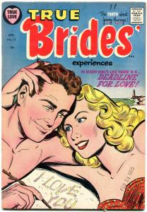 True Brides Experiences #11 1955- Circus Story- Golden Age Romance FN+
