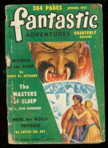FANTASTIC ADVENTURES QT SPG 51-HUBBARD-MASTERS OF SLEEP G/VG