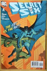 Secret Six #2 (2008) The Cat vs The Bat !