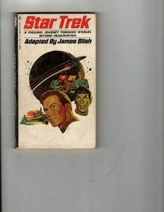 3 Books Star Trek Beyond Imagination Colour Scheme Saint Sees it Through JK18
