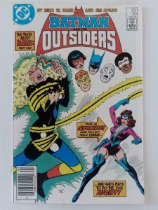 BATMAN AND THE OUTSIDERS #20, VF/NM, Halo Truth,  DC, 1983,1985