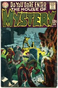 HOUSE OF MYSTERY #177 1968 DC COMICS NEAL ADAMS ORLANDO-- VG+