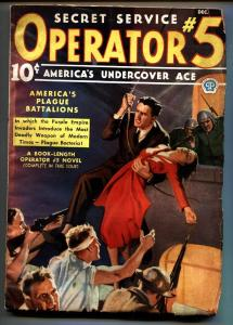 Operator #5 12/1936-Popular-hero pulp-Purple Invasion Series