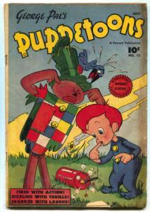 George Pal's Puppetoons #13 1947- Golden Age comic VG-