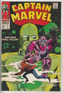 Captain Marvel #8 (Dec-68) FN/VF Mid-High-Grade Captain Marvel