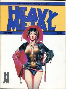 HEAVY METAL April May 1983, Kaluta, Jeff Jones, Moebius, 2 issues in all
