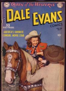 DALE EVANS #9 SIERRA SMITH - ALEX TOTH SUPERBOY 1950 DC VG