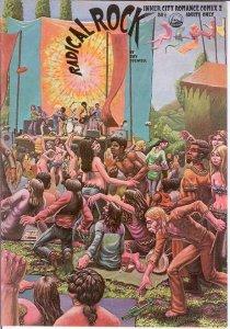 INNER CITY ROMANCE COMIX(1972 LAST GASP) 2 F-VF Colwell COMICS BOOK