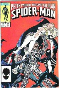 Spider-Man, Peter Parker Spectacular #95 (Oct-84) NM/NM- High-Grade Spider-Man