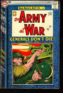 Our Army at War #147 (1964)