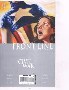 Civil War Front Line # 9 NM 1st Print Marvel Comic Book Avengers Hulk Thor J94