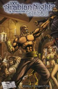 1001 Arabian Nights: The Adventures of Sinbad #8A VF/NM; Zenescope | save on shi