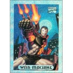 1994 Marvel Masterpieces Series 3 - WAR MACHINE #10 Holofoil Subset
