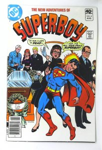 New Adventures of Superboy #8, VF+ (Actual scan)