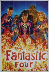 Fantastic Four 2018 by Alex Ross Folded Promo Poster [P52] (36 x 24) - New!