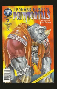 Tekno Comics Leonard Nimoys Primortals #2 April 1995