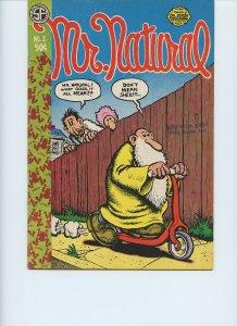 MR. NATURAL #2 / 1st Printing / 1971 / San Francisco Comic Book Co. / R. Crumb