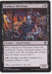 Magic the Gathering: Adventures in the Forgotten Realms - Skullport Merchant