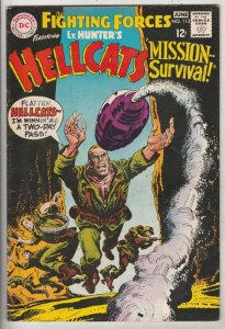 Our Fighting Forces #113 (Jun-68) VF+ High-Grade Lt. Hunter, the Hellcats (Br...