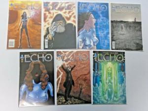 Echo run #6 to #12 7 different books 8.0 VF (2008)