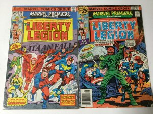 Marvel Premiere 29 30 Good/Very Good 3.0 First Appearance Liberty Legion Marvel