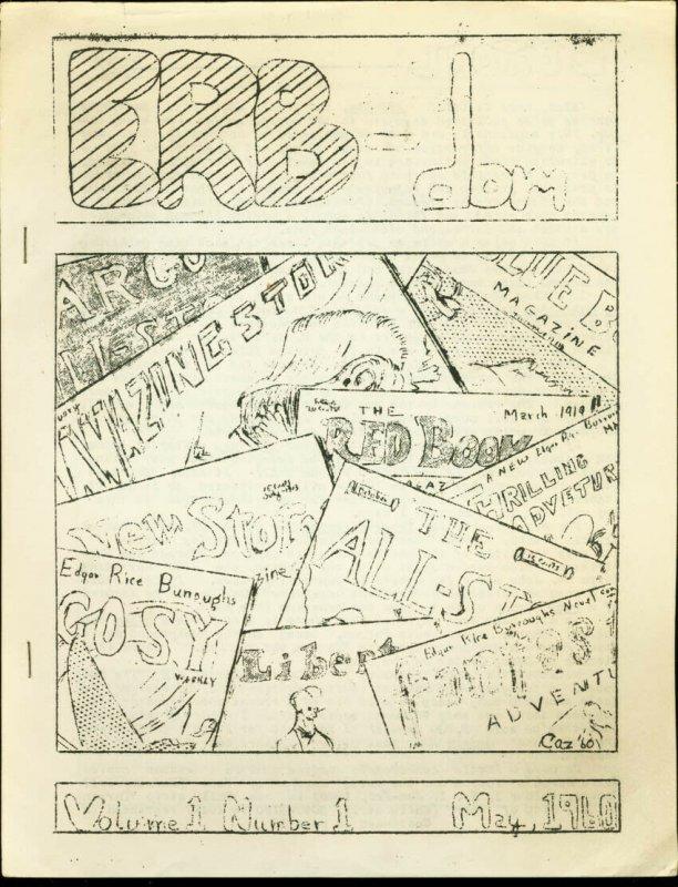 ERB-DOM #1-1960-TARZAN/EDGAR RICE BURROUGHS FANZINE     FN