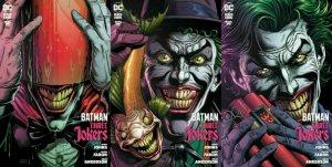 BATMAN THREE JOKERS #1 JASON FABOK PREMIUM 3 VARIANT COVER SET!