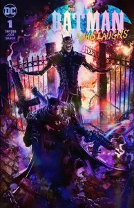 Batman Who Laughs #1 Clayton Crain Foil Variant Set