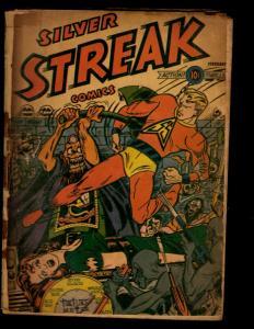 Silver Streak Comics # NN Lev Gleason 1946 Golden Age Comic Book NE1