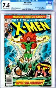 X-Men #101 CGC Graded 7.5  Origin and 1st appearance of phoenix