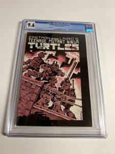 teenage mutant ninja turtles 1 Cgc 9.6 Ow/w Pages 3rd Third Printing Mirage 006