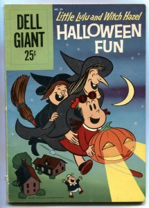 Little Lulu and Witch Hazel Halloween Fun- Dell Giant #36 VG